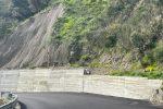 Messina, frana a Castanea: finalmente in sicurezza la strada di Portella