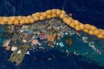 Filippine, la barriera corallina invasa dalle mascherine