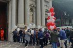 Messina, i funerali di Giuseppe Milone: tanti applausi per l'addio al giovane ciclista