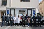 """Reggio, """"Fiamme di solidarietà"""": la Guardia di Finanza dona sangue e alimenti ai bisognosi"""