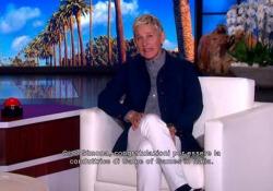 Gli auguri di Ellen Degeneres a Simona Ventura - Corriere Tv