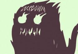 """Il nuovo cartoon di Zerocalcare a 'Propaganda Live': «Era meglio il lockdown 2020?» Il racconto della confusione tra le nuove restrizioni e la """"nostalgia"""" per la comunicazione del governo Conte - Ansa"""