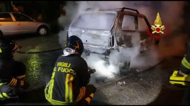 incendio, Catanzaro, Cronaca