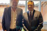 Matteo Salvini e Cataldo Calabretta
