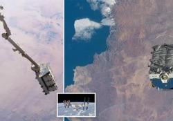 L'ISS ha scaricato nello spazio 2,9 tonnellate di rifiuti: ecco il video Un gigantesco cassonetto di spazzatura spaziale: contiene vecchie batterie al nichel-idrogeno - CorriereTV