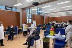 Sergio Mattarella si vaccina contro il Covid-19 all'Istituto Spallanzani di Roma