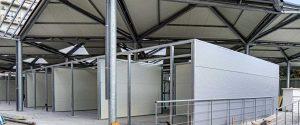 La nuova struttura di Mercato Zaera a Messina