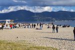 Messina, tutti in spiaggia prima della zona arancione - FOTO