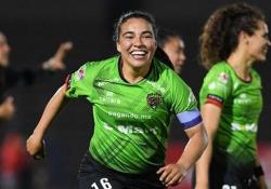 Messico, segna con un tiro di esterno da trenta metri Il bolide di Gabriela Alvarez, calciatrice del Juarez, squadra femminile del campionato messicano - Dalla Rete