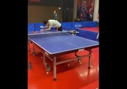 Ping pong, il tocco con l'effetto magico di Burgos Nicolas Burgos è uno dei giovani talenti più promettenti del ping pong in Cile - Dalla Rete