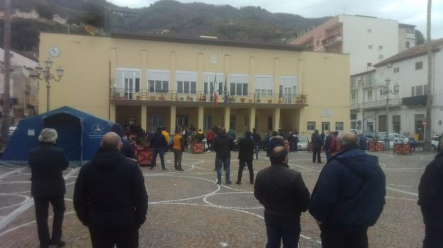 bagnara, pescatori, porto, proteste, Reggio, Cronaca