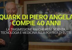 Quark di Piero Angela compie 40 anni La trasmissione Rai che rese scienza, tecnologia e medicina alla portata di tutti - Ansa
