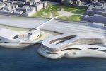 Il progetto del centro polifunzionale sul nuovo lungomare di Reggio