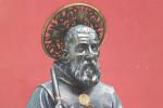 Il busto di San Francesco di Paola