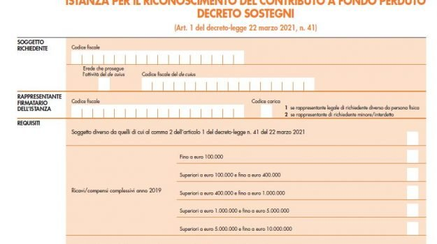 contributi a fondo perduto, decreto ristori, decreto sostegni, Sicilia, Economia