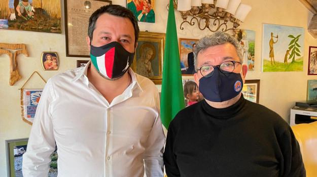 colloquio, investimenti, vaccini, Matteo Salvini, Nino Spirlì, Calabria, Politica
