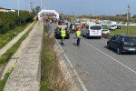 Ciclista ferito a San Pier Niceto durante la partenza