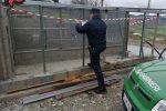 """Cosenza, manufatto abusivo sequestrato in località """"Ariella"""" a Torano Castello"""