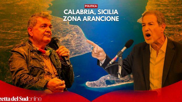 calabria, coronavirus, sicilia, zona arancione, Sicilia, Calabria, Cronaca