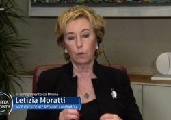 """Vaccini, Moratti: «Completeremo la campagna entro fine giugno» Lo ha detto l'assessora al Welfare di Regione Lombardia, ospite a """"Porta a Porta"""" - Ansa"""