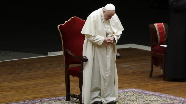 madonna, papa, preghiera, Sicilia, Società