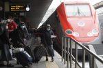 """Treno """"Covid free"""" al via oggi sulla Roma-Milano"""