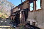 San Sosti, incendio in un agriturismo sulla strada che conduce al Santuario del Pettoruto