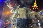 Messina, in fiamme un casolare a Santa Lucia: provvidenziale intervento dei vigili del fuoco