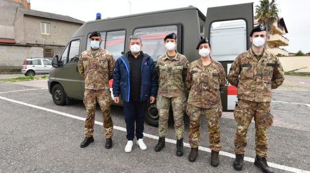 Vaccini, in Calabria è arrivato il team sanitario dell'esercito