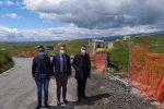 Cutro, ripresi i lavori di consolidamento della provinciale 63