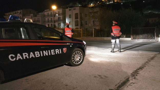 arresto, carabinieri, cocaina cortile, longobardi, Cosenza, Cronaca