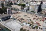 Messina, quattro bombe trovate sotto l'ex Teatro in Fiera. Lavori fermi per un mese