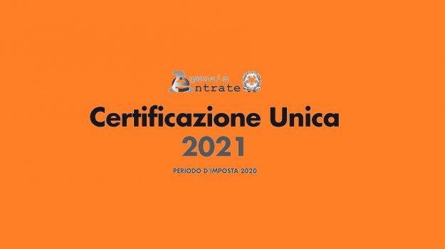 Certificazione Unica 2021, Sicilia, Economia