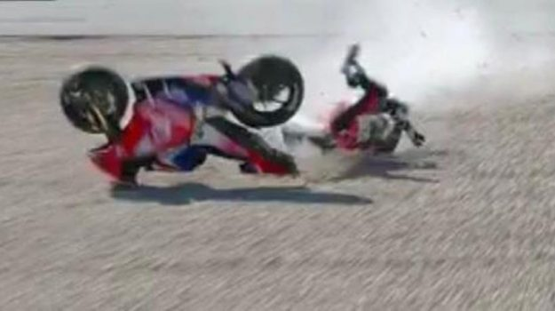 incidente, motogp, portimao, Jorge Martin, Sicilia, Sport