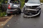 Vibo Valentia, scontro tra auto: i vigili estraggono una persona dall'abitacolo