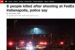 Usa, sparatoria alla FedEx di Indianapolis: 8 morti. Suicidia l'attentatore