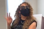 Mariah Carey si vaccina e le scappa uno dei suoi acuti - VIDEO