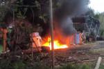 Brucia pneumatici fuori uso, uomo denunciato a Lattarico e area sequestrata