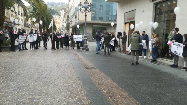 lamezia terme, protesta commercianti, Catanzaro, Cronaca