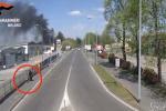 Milano: provoca incendio per vendetta nella sua ex azienda, arrestato un 43enne