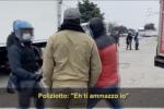 """""""Ti ammazzo io"""": l'audio del poliziotto al lavoratore in sciopero"""