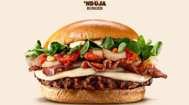 The 'Nduja Burger, l'ultima trovata del Burger King