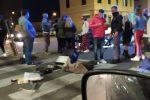 Messina, scontro auto-scooter in via La Farina: un ferito lieve