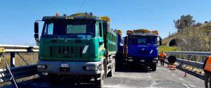 I lavori sull'autostrada A20 Messina Palermo