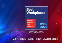 Best Workplaces 2021: la fiducia dei dipendenti cresce La classifica delle aziende «Best Workplaces 2021» - CorriereTV