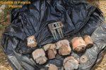 Messina, ritrovati cinque ordigni bellici tra le sterpaglie in località Sperone