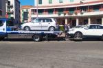 Messina, blitz della municipale a piazza Castronovo: multe e sequestri