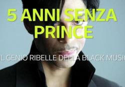 Cinque anni fa moriva Prince, genio ribelle della black music Stroncato da un'overdose mentre era da solo nell'ascensore della sua villa a Minneapolis - Ansa