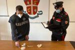 Sotto il materasso 600 euro e... 37 dosi di cocaina, 54enne di Corigliano ai domiciliari