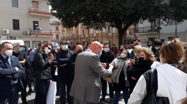 commercianti, coronavirus, crotone, proteste partite iva, vincenzo voce, Catanzaro, Cronaca